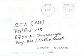 RCA CAR Centrafrique 2006 Bangui Meter Neopost NE 94656 EMA Cover - Zentralafrik. Republik