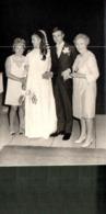2 CARTE PHOTO MARIAGE , VEGEANEL HELENE ? - Noces