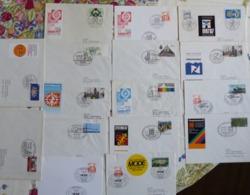 16 Briefe Sonderstempel Veranstaltungen SST München 1987 Teils Echt Gelaufen   #cover 5038 - Sammlungen (ohne Album)