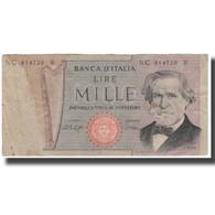 Billet, Italie, 1000 Lire, KM:101a, AB - [ 2] 1946-… : République
