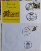 2 Briefe Sonderstempel Veranstaltungen SST München 1981    #cover 5039 - Sammlungen (ohne Album)