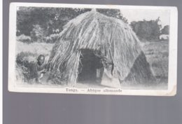TANZANIA Tanga, Afrique Allemande Ca 1910 Old Postcard 13,8x 7,5 Cm - Tanzania