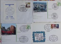 4 Briefe Sonderstempel Veranstaltungen SST München 1982    #cover 5040 - Sammlungen (ohne Album)