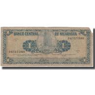 Billet, Nicaragua, 1 Cordoba, KM:115a, B - Nicaragua