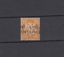 Bayern 41 Wappen 25 Pfennig - Stempel Zweizeiler POSTABLAGE BIRNBAUM - Bayern