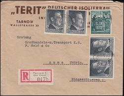 Generalgouvernement 70 Bauwerke + 4x 71 Hitler MiF R-Bf TARNOW 27.6.42 Nach Auma - Besetzungen 1938-45