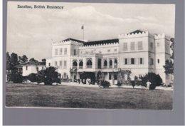 TANZANIA Zanzibar British Residency Ca 1920 Old Postcard - Tanzania