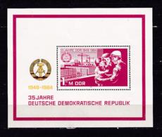 146i * DDR BLOCK 78 * 35 JAHRE * POSTFRISCH ** !! - [6] Oost-Duitsland