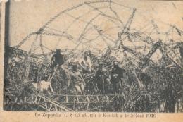 Thematiques Grèce Salonique Le Zeppelin L Z 95 Abattu à Koulak Le 5 Mai 1916 - Greece