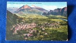 Ragaz Gegen Das Rheintal Churfirsten Alvier Und Gonzen Switzerland - SG St-Gall
