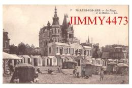 CPA - VILLERS-SUR-MER 14 Calvados - Le Casino Et La Plage Bien Animée - N° 7 - L L - Imp. Lévy Et Neurdein - Villers Sur Mer