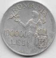 Roumanie - 100000 Lei - 1946 - Argent - Roumanie