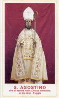 Foggia - Santino SANT'AGOSTINO, Chiesa Omonima - PERFETTO R17 - Religione & Esoterismo