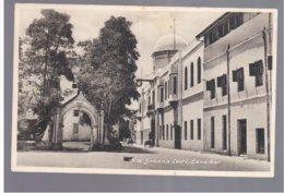 TANZANIA H. H. Sultan's Court Zanzibar  Old Postcard - Tanzania