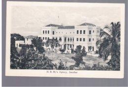 TANZANIA Zanzibar H. B. My's Agency Ca 1915 Old Postcard - Tanzania