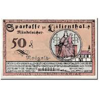 Billet, Allemagne, Lilienthal, 50 Pfennig, Personnage, 1921, 1921-03-15, SPL - Allemagne