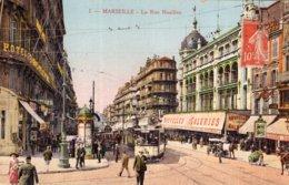 "B58034 Cpa Marseille - La Rue Noailles "" Tramway "" - Marseilles"