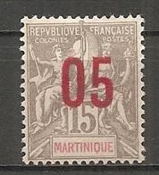 MART - Yt. N° 78   *  05 S 15c   Cote  1,25  Euro  BE 2 Scans - Martinique (1886-1947)