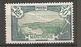 MART - Yt. N° 121   (*)   30c  Cote  2  Euro  BE   2 Scans - Martinique (1886-1947)