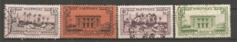 MART - Yt. N° 137,138,140,141   (o)   10c,15c,25c,30c  Cote  1,4  Euro  BE   2 Scans - Used Stamps