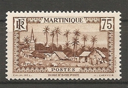 MART - Yt. N° 146   *   75c  Cote  1,25  Euro  BE   2 Scans - Martinique (1886-1947)