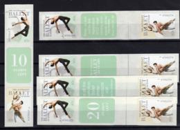 AUSTRALIE Australia 2012 Ballet Dance 10 Val. Self-Adh MNH ** - Mint Stamps