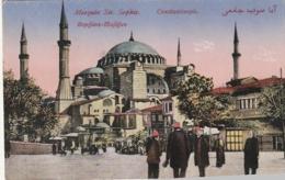 ***   CONSTANTINOPLE  Mosquée Ste Sophie TTB écrite - Turquie