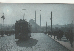 ***   CONSTANTINOPLE   Le Nouveau Pont  TTB écrite - Turquie