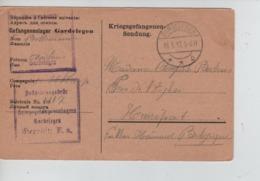 PR7442/ CP PDG-POW-KFS Camp Cde Gardelegen 1917 Censure Du Camp > Henripont - WW I