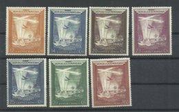 DOMINICANA  YVERT  AEREO   85/91   MH * - Dominikanische Rep.