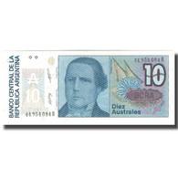 Billet, Argentine, 10 Australes, KM:325a, NEUF - Argentine