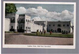 TANZANIA Zanzibar, Ladies Club, Old Fort Congo Belge Vue De Toa (Tanganyka)  Old Postcard - Tanzania