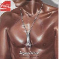 "Bob Marley + Jimmy Cliff 45t. SP ""reggae Festival"" Disque Couleur Pub Coca Cola - Reggae"