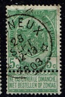 56  Obl Relais  Chaineux  + 12 - 1893-1907 Coat Of Arms