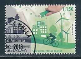 ANDORRA (span.) Mi.NR. 438 Europa - Umweltbewusst Leben -2016- Used - 2016