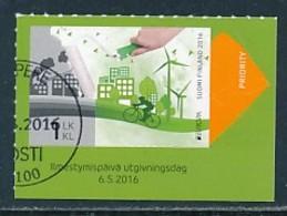 FINNLAND Mi.NR. 2450 Europa - Umweltbewusst Leben -2016- Used - Europa-CEPT