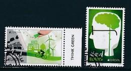FINNLAND-ALANDINSELN Mi.NR. 425-426 Europa - Umweltbewusst Leben -2016- Used - Europa-CEPT