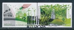 GRIECHENLAND Mi.NR 2892-2893 C Europa - Umweltbewusst Leben -2016- Used - Europa-CEPT
