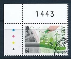 GUERNSEY Mi.NR 1560 Europa - Umweltbewusst Leben -2016- Used - Europa-CEPT