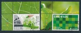 IRLAND Mi.NR 2184-2185 Europa - Umweltbewusst Leben -2016- Used - Europa-CEPT