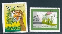 ITALIEN Mi.NR 3908-3909 Europa - Umweltbewusst Leben -2016- Used - 2016