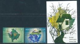 KOSOVO Mi.NR 338-339, Block 36  Europa - Umweltbewusst Leben -2016- Used - Europa-CEPT