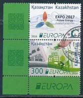 KASACHSTAN Mi.NR 966-967 Europa - Umweltbewusst Leben -2016- Used - 2016