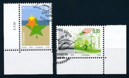 LUXEMBURG Mi.NR 2090-2091 Europa - Umweltbewusst Leben -2016- Used - Europa-CEPT