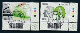 MALTA Mi.NR 1927-1928 Europa - Umweltbewusst Leben -2016- Used - Europa-CEPT