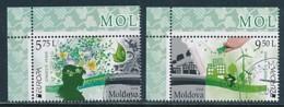 MOLDAWIEN Mi.NR 948-949 Europa - Umweltbewusst Leben -2016- Used - Europa-CEPT