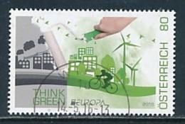 ÖSTERREICH Mi.NR 3268 Europa - Umweltbewusst Leben -2016- Used - 2016