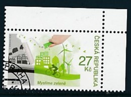 TSCHECHISCHE REPUBLIK Mi.NR. 882 Europa - Umweltbewusst Leben -2016- Used - Europa-CEPT