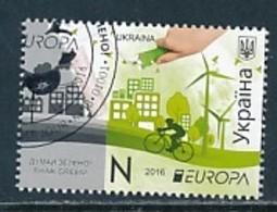 UKRAINE Mi.NR. 1540 Europa - Umweltbewusst Leben -2016- Used - 2016