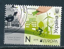 UKRAINE Mi.NR. 1540 Europa - Umweltbewusst Leben -2016- Used - Europa-CEPT